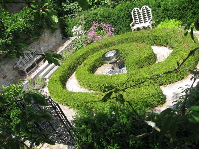 Knot garden for English knot garden designs