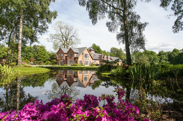 Lakeside House Cheshire By Barnes Walker Landscape