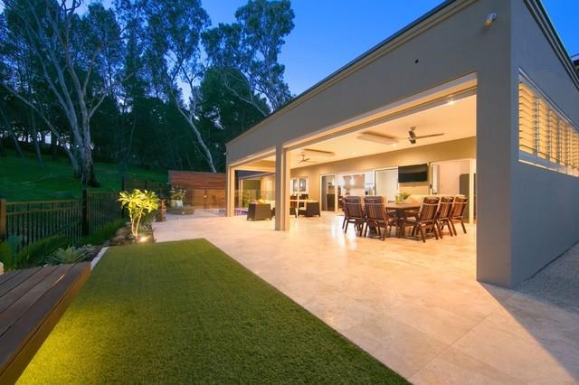 Landscape construction contemporary landscape adelaide for Landscape contractors adelaide