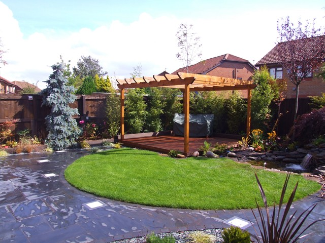 Landscaping marshalls award winning patio for Award winning landscape architects