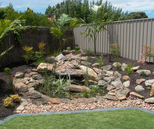 Landscaping transitional garden adelaide by mr b 39 s for Landscape contractors adelaide