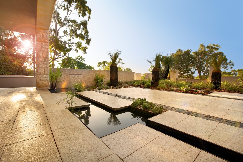 Liacos Residence - Contemporary - Landscape - Perth - by ...