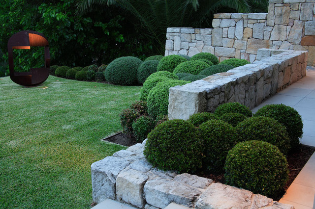 Garden Designs With Box Hedging Container Gardening Ideas