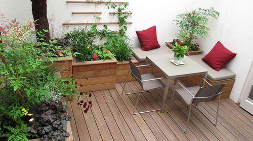 small wooden decks
