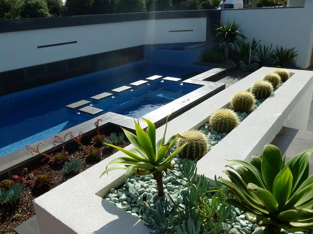 Melbourne beachside garden, - Beach Style - Landscape ... on Backyard Beach Landscape Design id=29379