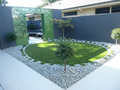 Melbourne Modern Homes Contemporary Landscape Melbourne By Landscape