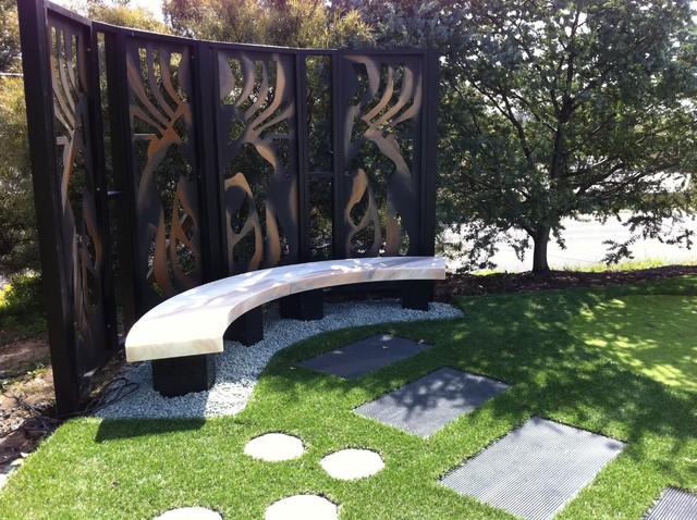 Melbourne modern homes modern landscape melbourne for Landscape garden design melbourne