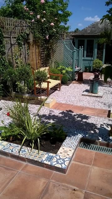 Moroccan Garden Steyning West Sussex Mediterranean Garden