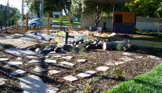 Natural outdoor playspace for Outdoor furniture launceston