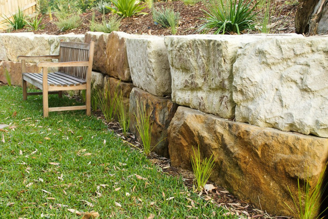 New homes north epping contemporary garden sydney for Outdoor furniture epping