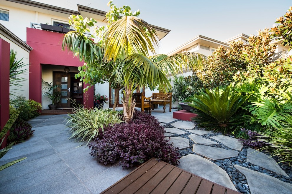 North Beach Courtyards - Contemporary - Landscape - Perth ...