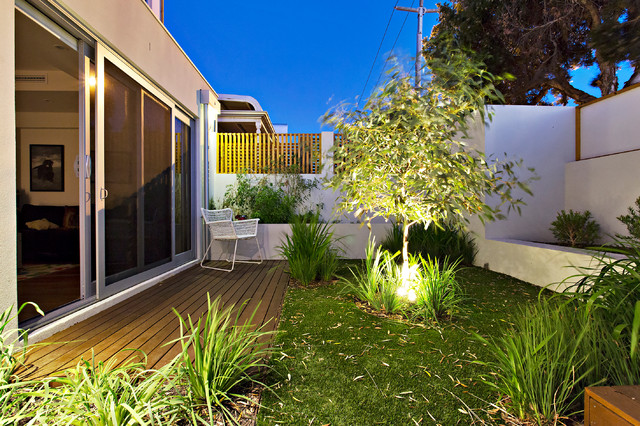 North perth project contemporary landscape perth for Davies landscape architects