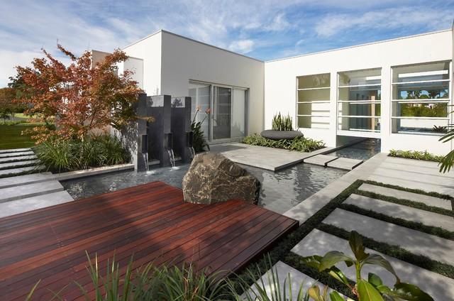 On show contemporary landscape sydney by dean herald rolling stone landscapes - Gartenbrunnen modern ...