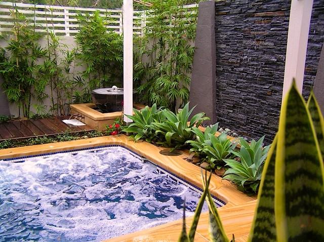 Oriental Garden and Spa Design in Miranda NSW