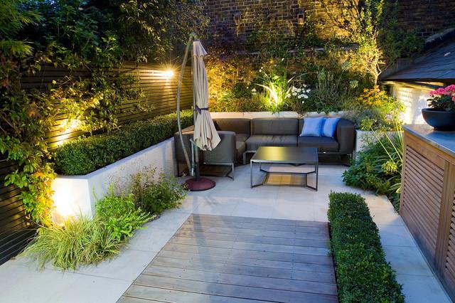 Outdoor Room In Chelsea London Modern Landscape London By