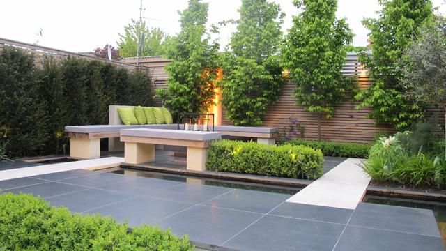 Party Garden In Chiswick Contemporary Garden London