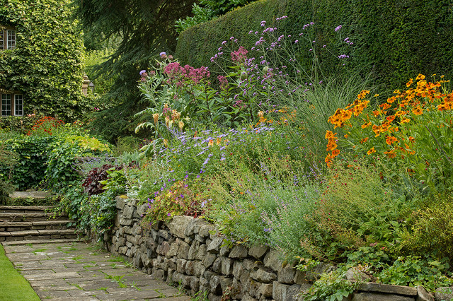 Planting design English country garden Ilkley West  : traditional landscape from www.houzz.com size 640 x 426 jpeg 236kB