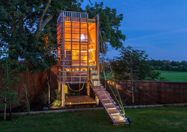 Play Tower (Treehouse) Kane Architects