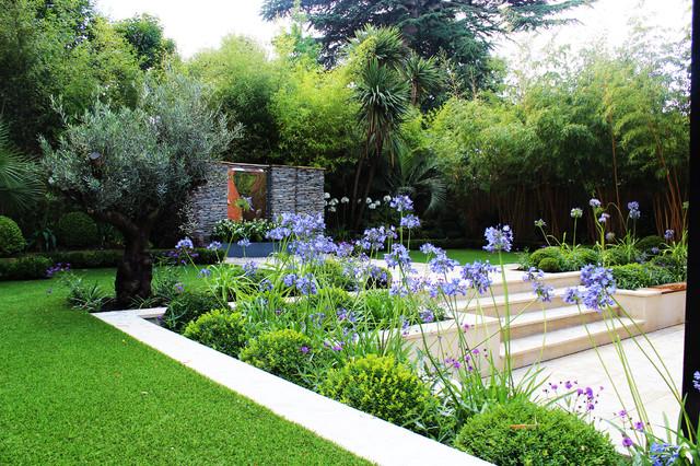 Private gardens contemporary garden london by ced for Garden design group