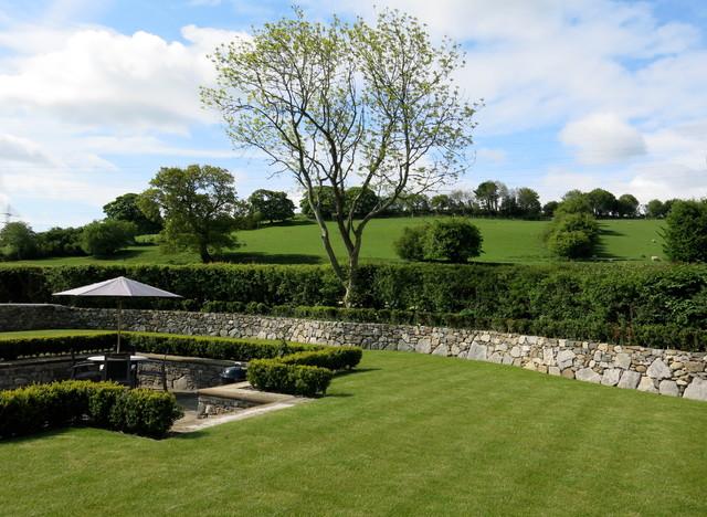 Private Sunken Walled Garden Traditional Garden
