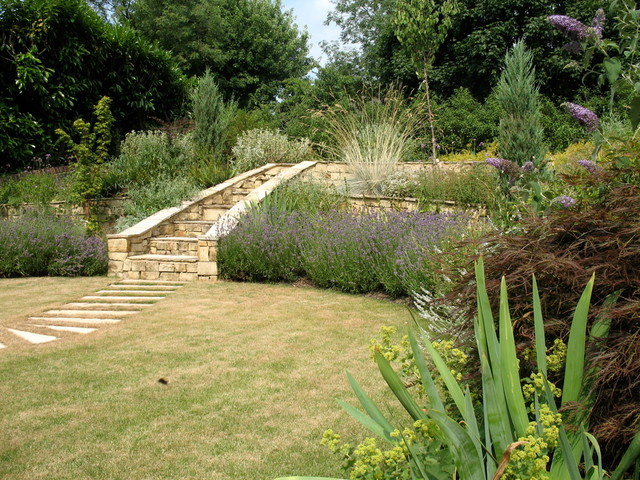 Provencal garden in south london mediterranean for Garden design yates