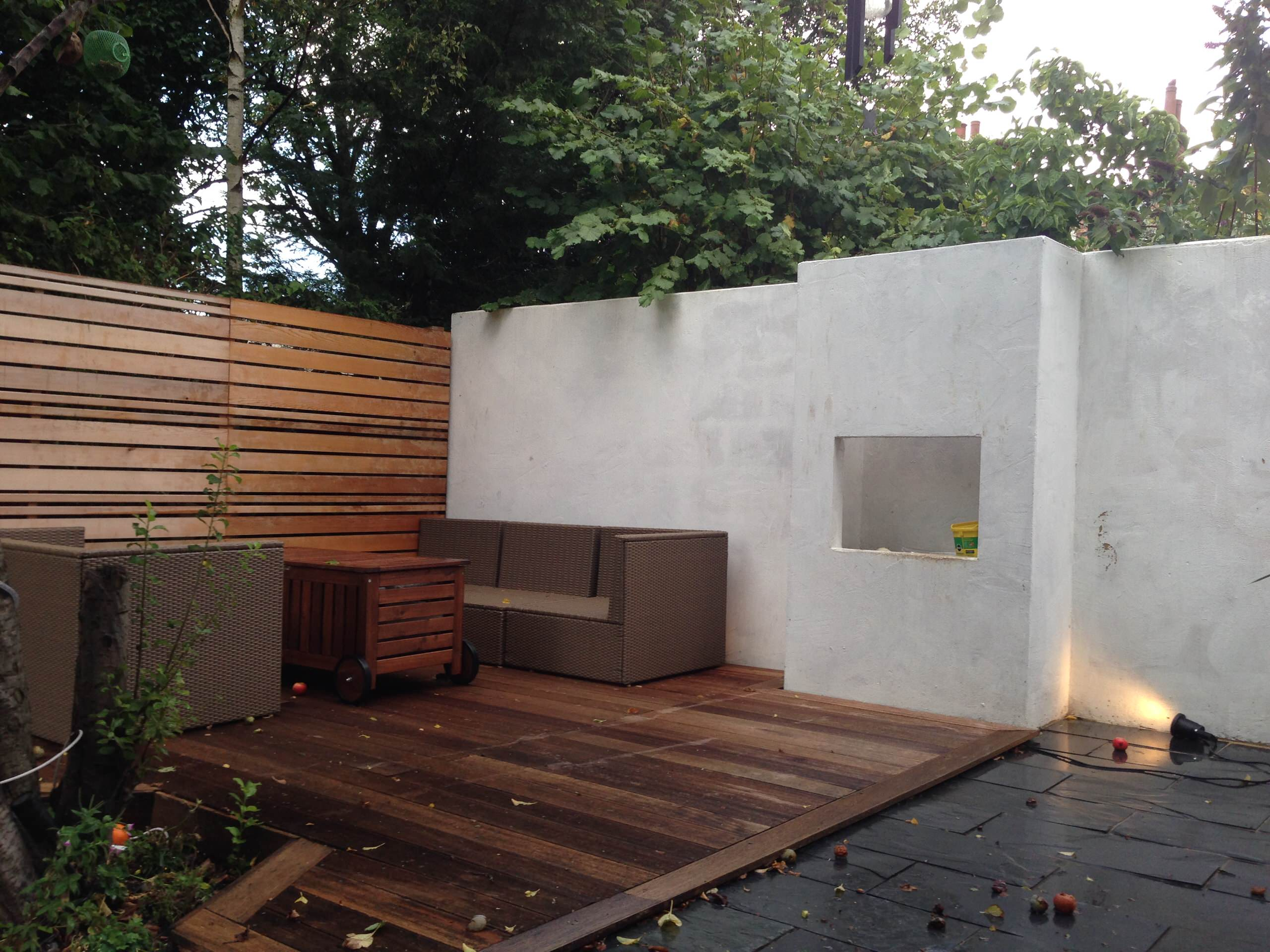 Rear Extension And Garden Design In NW London