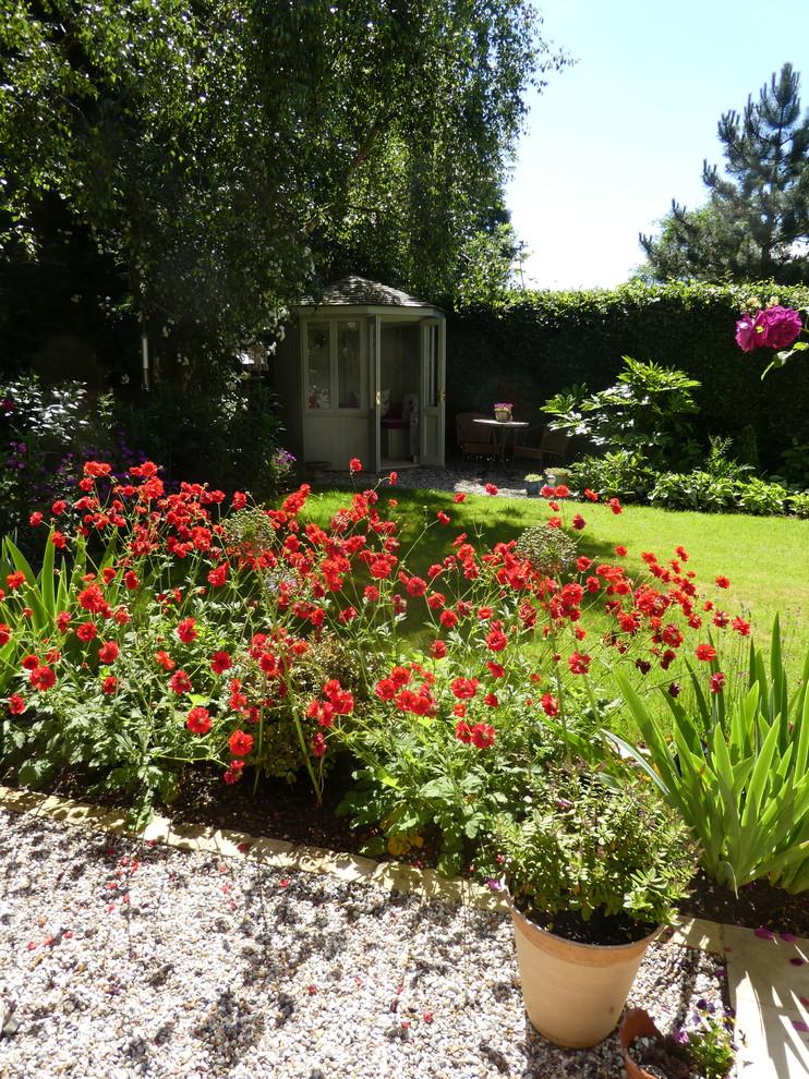 Rear Garden, Biddenham, Bedfordshire - Contemporary ...