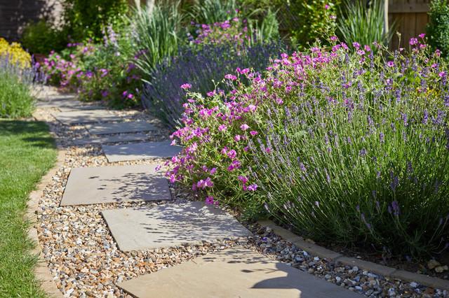 Rear Garden Design, Harpenden - Traditional - Garden ...
