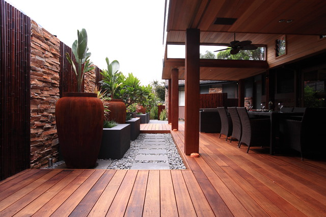 Residential Tropical Landscape Sydney By Fuse