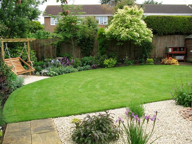 romantic suburban garden - country - garden - other