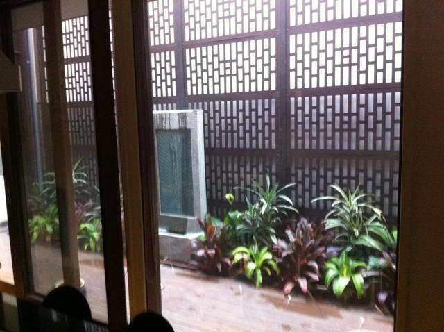 small courtyard garden asian landscape melbourne On courtyard designs melbourne