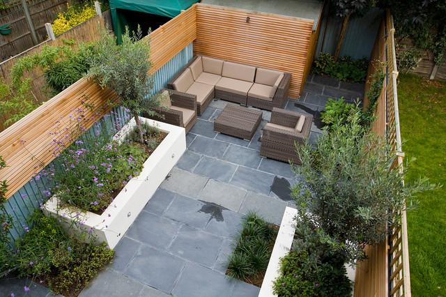 Small Garden Design In Putney Contemporary Garden London