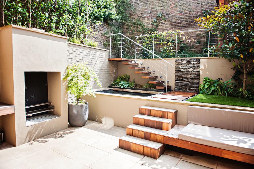 Small Garden in Hampstead Village, London - Contemporary ...