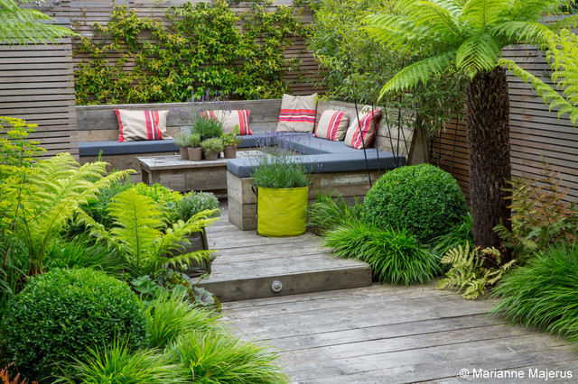 Small Garden Oasis Contemporary Landscape London by Garden