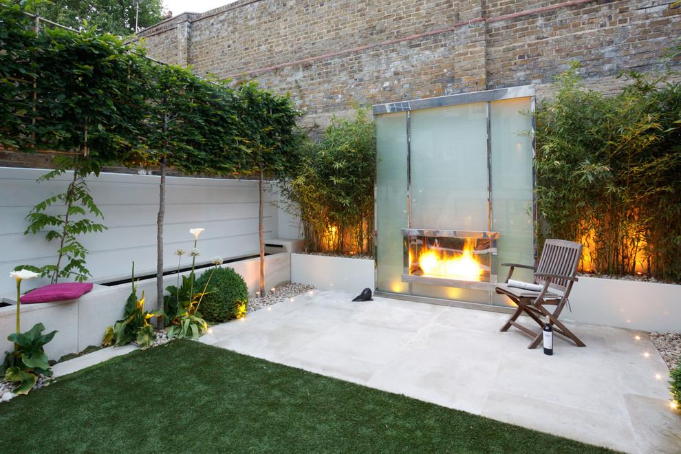 Small Modern Garden In Kensington