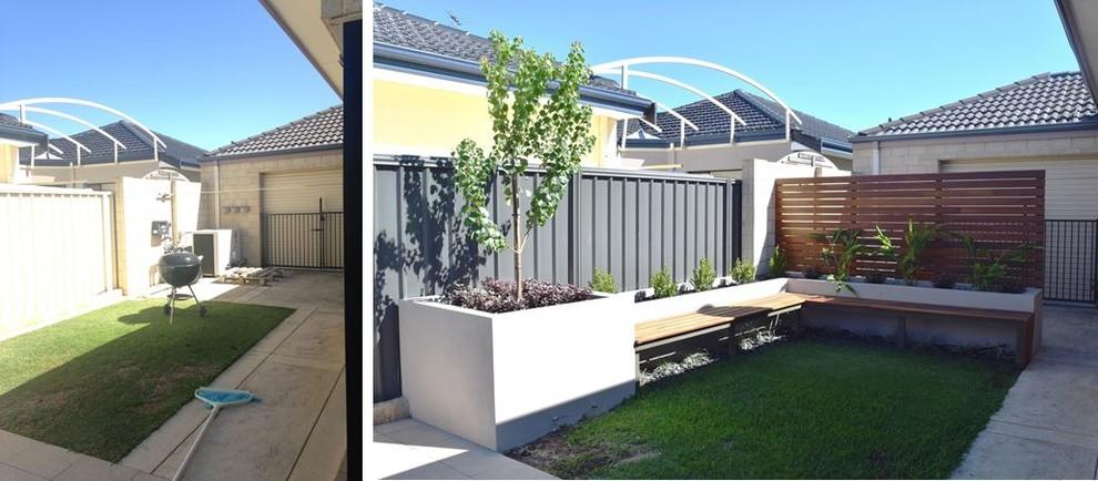 Small Space Back Garden Makeover - Contemporary ...