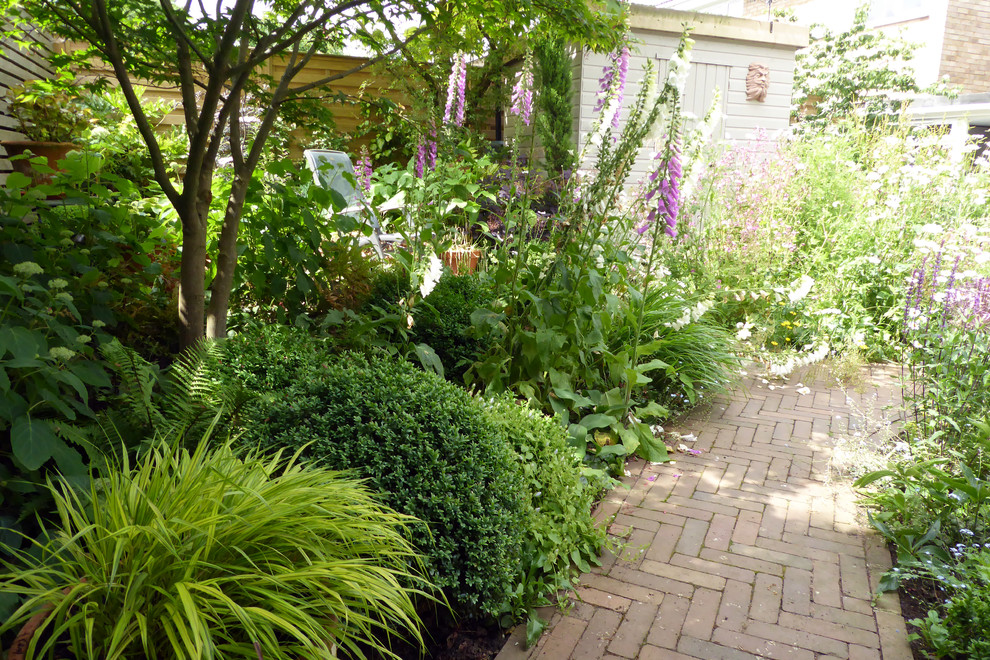 Small town garden no lawn - Traditional - Landscape ...