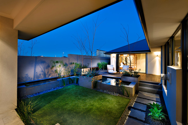 Southern River contemporary-landscape