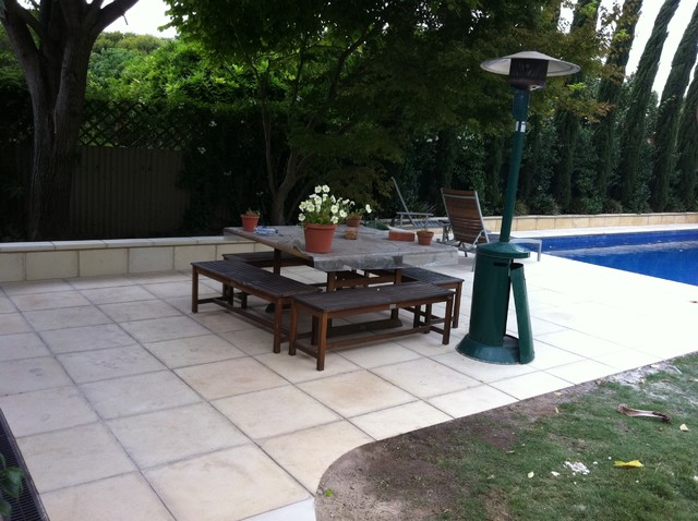 St peters pool surround landscape for Pool and landscape design adelaide