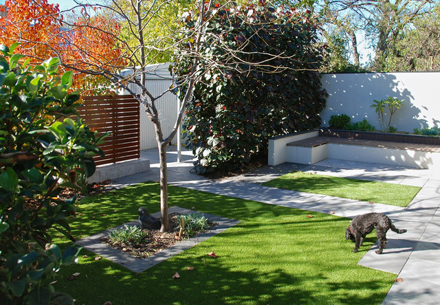Stepney courtyard modern landscape adelaide by for Courtyard home designs adelaide