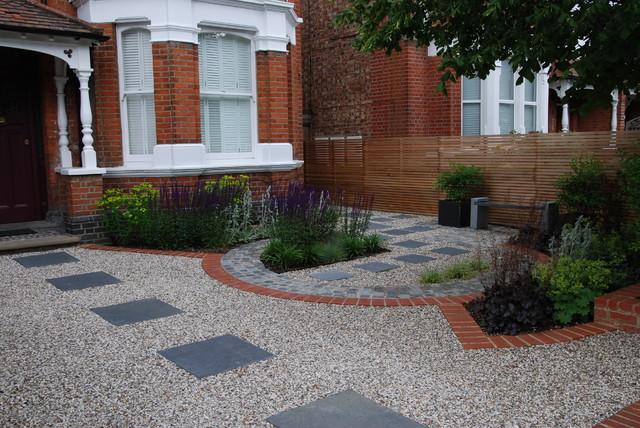 Front Garden Ideas London west london stylish front garden - contemporary - garden