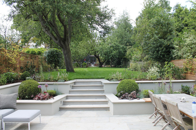 Summer Orchard Garden Transitional Landscape London By The