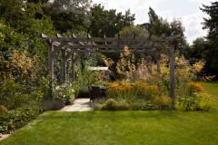 Outdoor Rooms and Soft Plantings Fill an English Country Garden