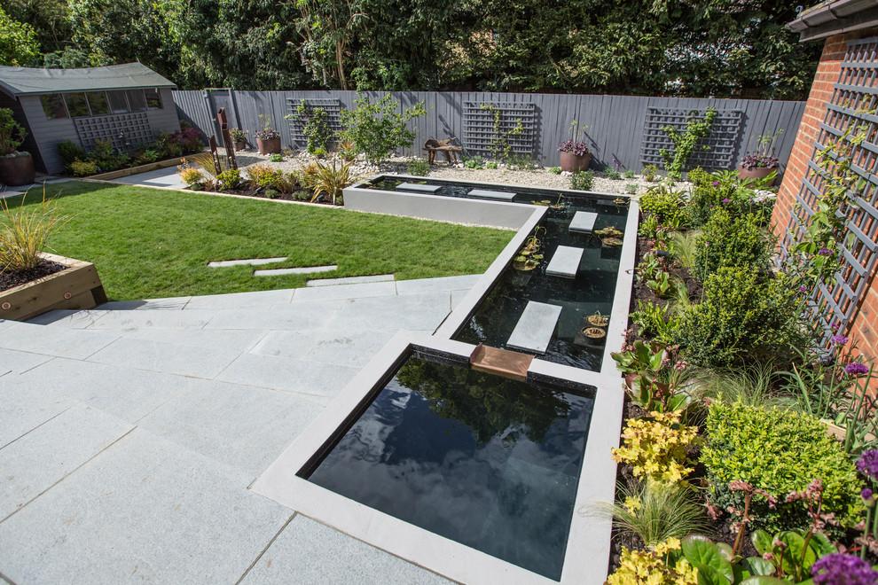 Terraced Garden Contemporary Landscape Hertfordshire By Vara Garden Design,Neck Designs Blouse Designs 2020 Latest Images Download