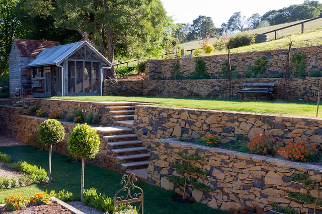 Terraced vegetable garden for Terrace vegetable garden