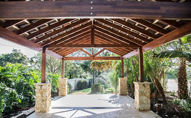 The Carport Mediterranean Garden
