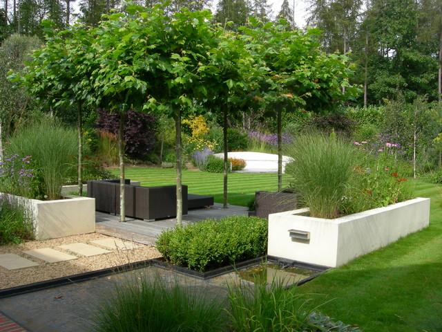 The howard garden contemporain jardin surrey par - Jardin contemporain design saint denis ...