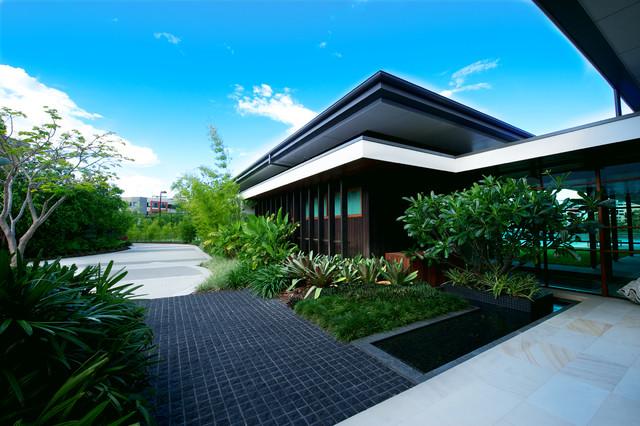 Toowong residence for Residential landscape design brisbane