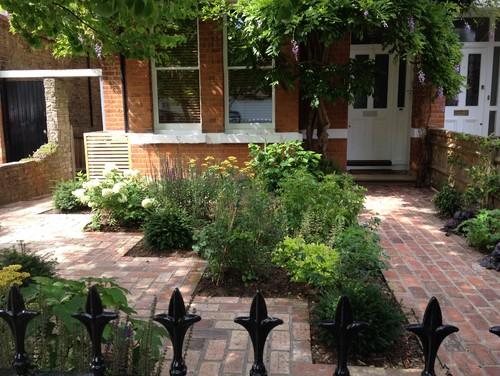 Town front garden