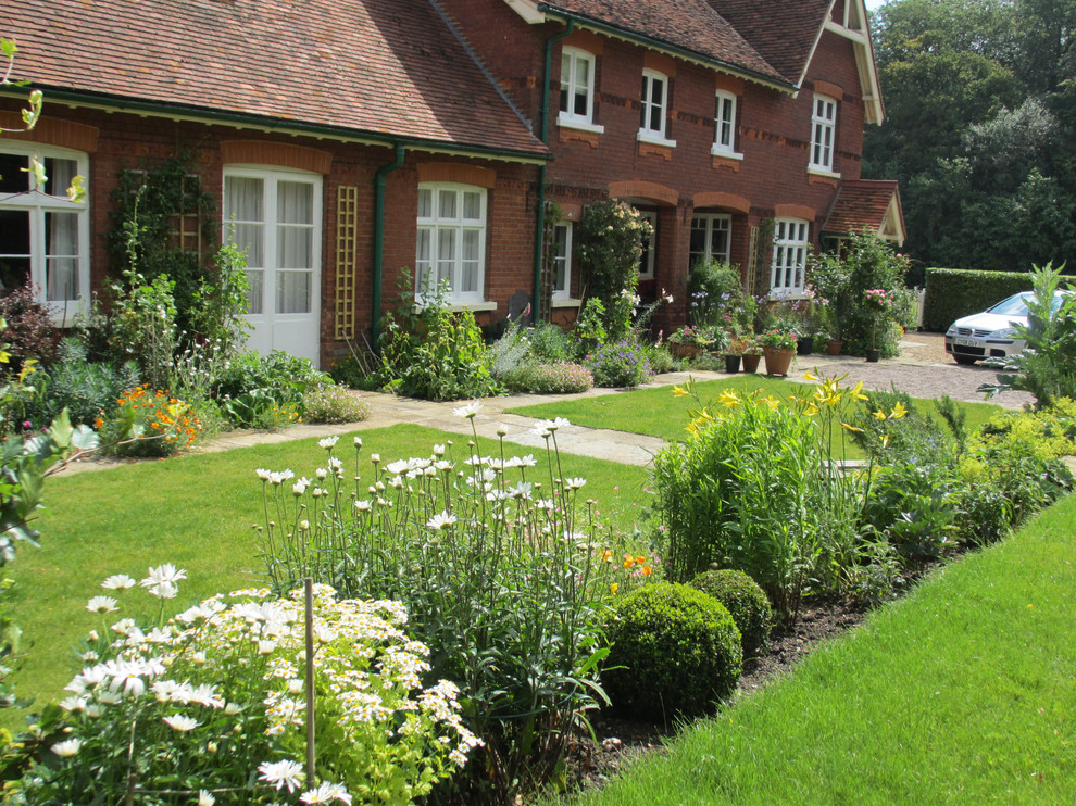 Traditional country garden